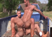 Outdoor den schwulen Arsch stopfen