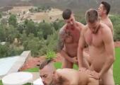 Gay Sex im Freien
