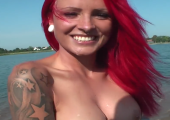 Lexy Roxx am Baggersee gefickt