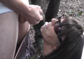 Gangbang im Wald mit Milf
