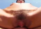 Sex im Freien mit geiler Schlampe